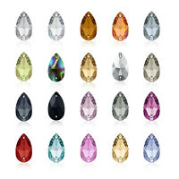 Swarovski Teardrop (3230) 12x7mm 18x10.5mm 28x17mm Sew On Rhinestone Crystal
