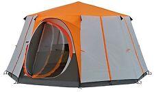 Coleman 8 Man Cortes OCTAGON Tent Orange 380 X 360cm