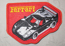 Ferrari Toppa Patch 8 x 11 cm NUOVO (A54v)