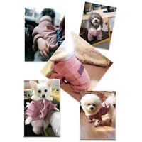 Small Pet Dog Cat Winter Warm Coat Jumpsuit Vest Puppy Jacket Clothes Apparel