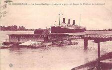B94246 bordeaux le transatlantique lutetia ponton de lormont france ship bateaux