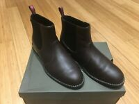 Timberland Chelsea Boots | Mens Brown Leather | Size UK 6.5/7 | 100% GENUINE