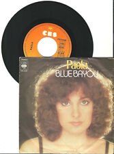 "Paola, Blue Bayou, Juke Box, G/VG, 7"" Single, 9-1280"
