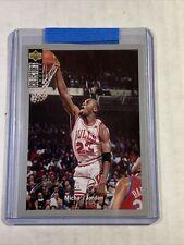 1994-95 Upper Deck Collectors Choice Silver Signature #240 Michael Jordan