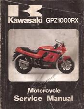 "1985 KAWASAKI GPZ 1000RX  ""OEM""  FACTORY SERVICE MANUAL"
