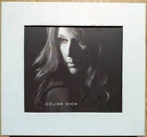 Celine Dion D'Elles Box Collector CD+DVD + Karten
