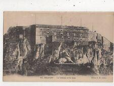 Belfort Chateau & Le Lion France 1924 Postcard 951a
