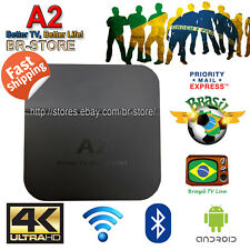 Brazilian Portuguese of A2 TV BOX 4K Brazilian Live TV Upgrade fast ship