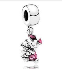 Disney Charm Piglet Bead Charm Fits European Charm Bracelets CH125