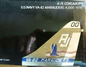 CENTURY WINGS A-7E CORSAIR II US NAVY VA-82 MARAUDERS AJ300 1978 1/72