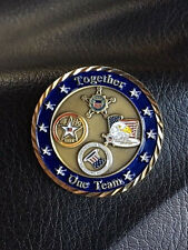 RARE Authentic DOD Communications NAVY Coin  2004 Presidential Campaign 139b