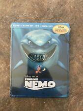 NEMO BLU RAY  + 3D + DVD + DIGITAL - RARE STEELBOOK- BRAND NEW & SEALED