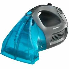 Maxi Vac Handheld Carpet and Upholstery Cleaner Grey and Turquoise Wet Dry