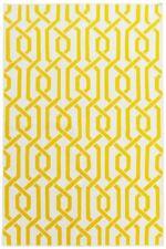 BAKERO Kilim Rug Camila Flat Weave, Wool - 140x200cm - Yellow - Z02