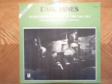 MUSE 2 LP RECORD/EARL HINES/LEGENDARY LITTLE THEATER CONCERT OF 1964, VOL 1, 2