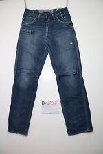 G-Star raff jack pant jeans usato (Cod.D1257) Tg.44 W30 L34 uomo boyfriend
