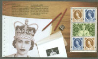 Great Britain 50th Anniv Coronation-booklet pane-mnh 2003