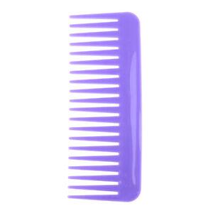 1Pc Salon Comb Hairdressing Shower Plastic Wide Tooth Detangler Hair Brush  L SK