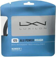 NEW Luxilon ALU POWER ROUGH BIG BANGER 16L (1.25) Tennis String Set SILVER Pack