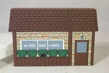 THE BOX BAR & GRILL, Plymouth, MI, Cat's Meow Village Custom Building, 1996