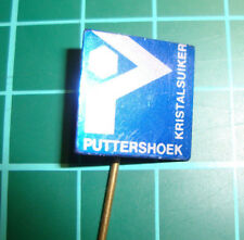 Puttershoek kristalsuiker sugar - stick pin badge 60s speldje