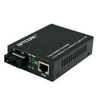 1000Mbps Gigabit Media Converter Multimode Duplex SC Fiber 850nm 550m in US