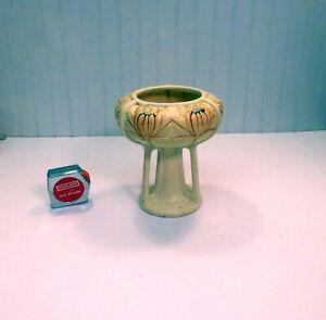WELLER Arts & Crafts Triple Buttress Pedestal Lily Lotus Blossom Vase Die Stamp