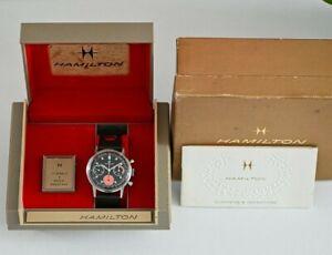 Vintage Hamilton 640 Cal. Valjoux 7736 Chronograph 36mm+ Watch