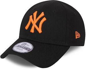 Ny Yankees New Era 940 Bébé Néon Paquet Noir Casquette (2-4 Ans)