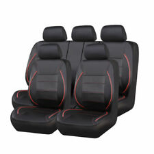 CAR PASS ZT00120 Car Seat Cover - Red/Black