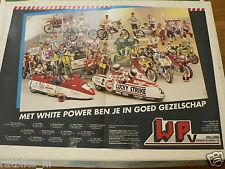 A270-WHITE POWER WP VERINGSTECHNIEK 1990 POSTER VD VEN,STREUER,SPAAN,DRUNEN,COMB