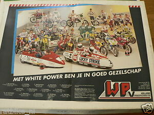 A270-WHITE POWER WP VERINGSTECHNIEK 1990 POSTER VD VEN,STREUER,SPAAN,DRUNEN,COMB
