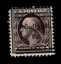 "US 1909 SC# 342 $1.00 WASHINGTON Used - ""Philadelphia, Pa"" Pre- Cancel -"
