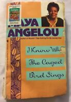 I Know Why The Caged Bird Sings Maya Angelou Paperback Book Classic