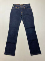 WOMEN'S LEVI 10528 'STRAIGHT' Jeans - W28 L32  - Blue - Great Condition