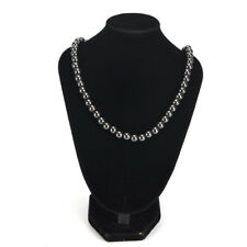 8MM Magnetic Beads Black Hematite Magnetic Lose Weight Healthy Care Necklace HL