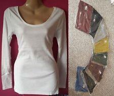 Next Women's Cotton Long Sleeve Sleeve Tops & Shirts