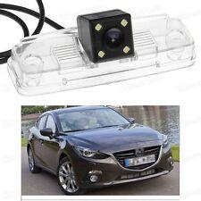 4 LED Car Rear View Camera Reverse Backup CCD for Mazda 3 Sedan 2014 2015 2016