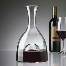 Wine Enthusiast Lead-Free Crystal Visual Wine Decanter with Dome