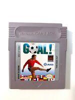 Goal (Soccer) ORIGINAL NINTENDO GAMEBOY GAME Tested + Working!