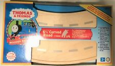 "Thomas & Friends Wooden Railway 6.5"" Curved Road Track Learning Curve Lc99940"