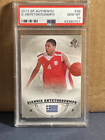 2013 SP Authentic Giannis Antetokounmpo Rookie RC #36 PSA 10 GEM MINT Upper Deck