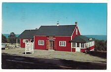 The RED BARN Restaurant Gift Shop US Route 1 LINCOLVILLE MAINE ME Postcard 1957