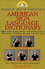 Random House Webster's American Sign Language Dictionary by Elaine Costello...