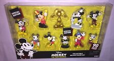 DISNEY MICKEY THE TRUE ORIGINAL 90 YEARS COLLECTIBLE DELUXE FIGURE SET **NEW**