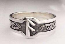 Ansuz ring Futhark ring Rune Silver ring Viking ring Odin paganism Norwegian