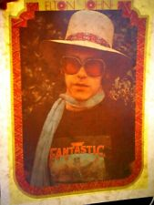 Elton John Captain Fantastic 1970's Vintage Americana Iron On Transfer B-8