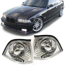 Cristal Cromado Look Indicadores Para BMW E36 serie 3 Coupé Convertible 91-2000 &