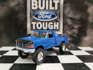 CUSTOM MADE 1:64 GreenLight TRUCK 1996 Ford pickup 4WD f350 f250 4x4 Hitch & Tow