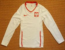 2008 - 2010 Poland, Home Long sleeve Shirt by Nike, Player Issue. Small, 173